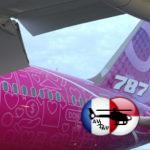 Boeing представил самолет с ливреей, созданной из наклеек